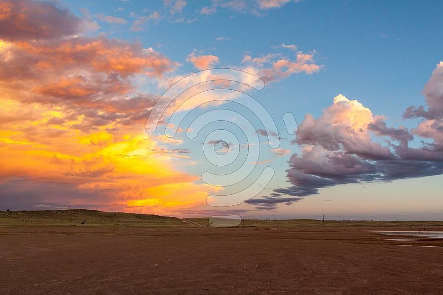 Yellow clouds at Koopan