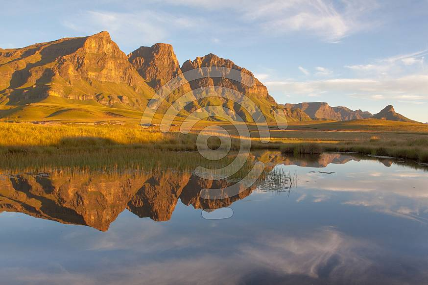 Reflection of the Peaks