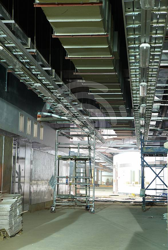 Gautrain station construction at Rosebank