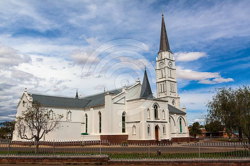 Dutch Reformed Church in Aberdeen with the highest steeple in SA