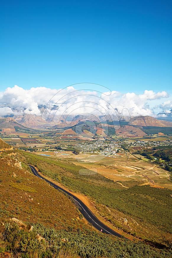 Franschhoek Valley wine region