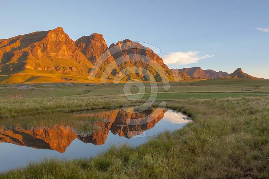 Maloti Mountains, Lesotho